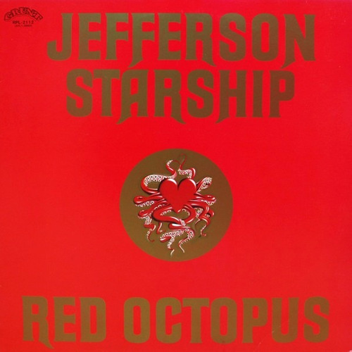 cd jefferson starship red octopus (1975) novo lacrado