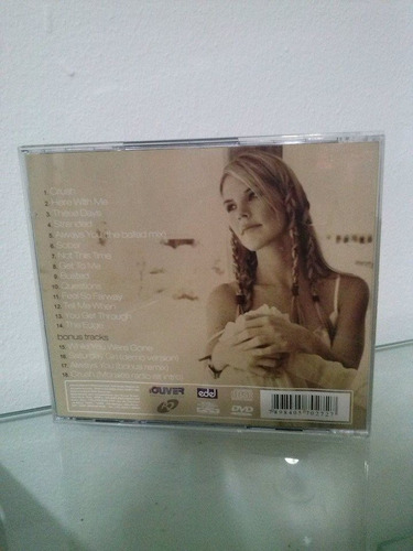 cd - jennifer paige - flowes - the hits collection - duplo