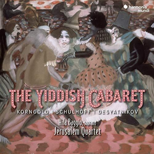 cd : jerusalem quartet - yiddish cabaret