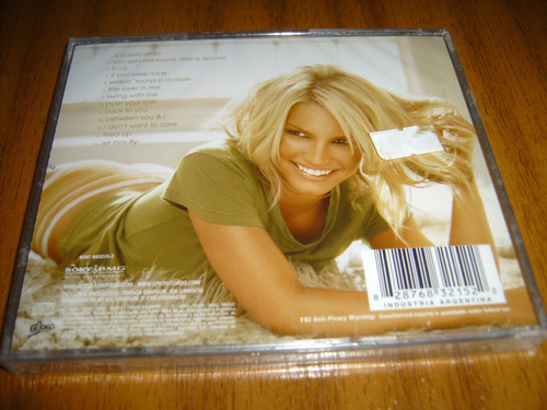 cd jessica simpson / a public affair (nuevo y sellado)