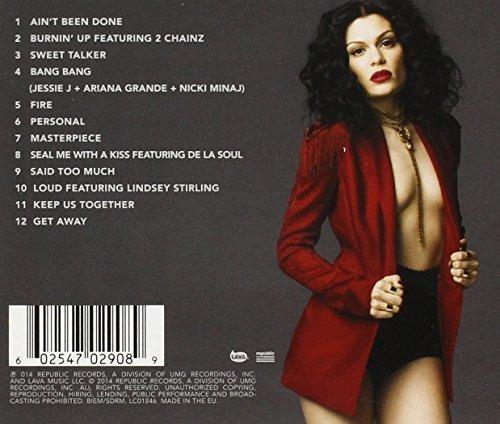 cd jessie j - sweet talker - nuevo sellado en stock