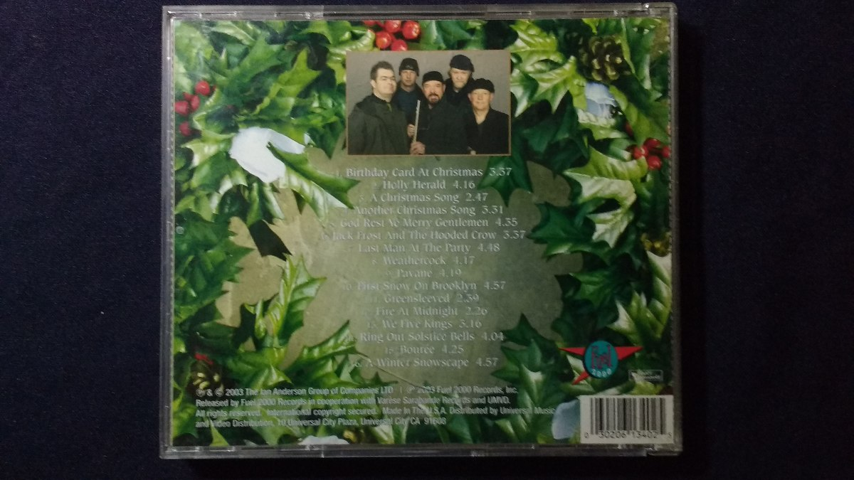 Cd Jethro Tull Christmas Album - $ 10.200 en Mercado Libre