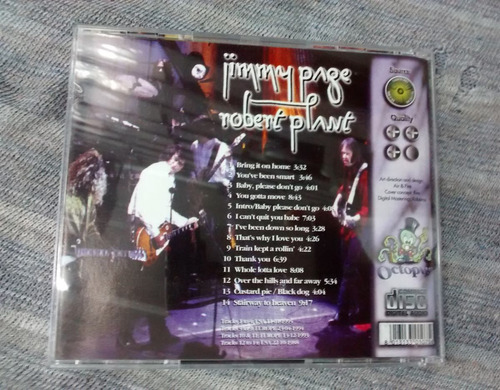 cd: jimmy page / robert plant - the story so far