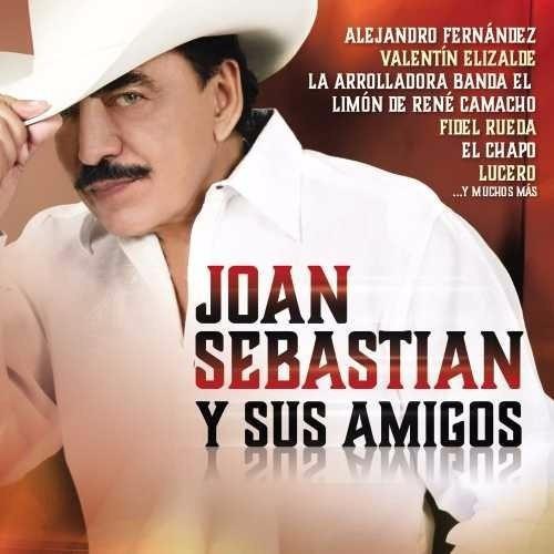 cd joan sebastian y sus amigos varios 20 canciones tracks