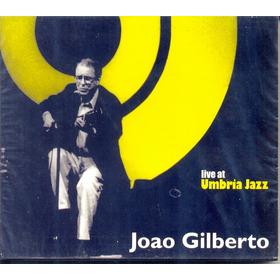Cd João Gilberto Live At Umbria Jazz 1996 Lacrado