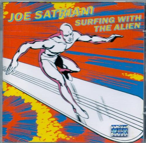 cd joe satriani - surfing with the alien - novo***