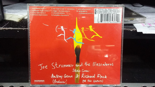cd - joe strummer and the mescaleros -rock art and the x-ray