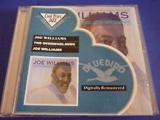 cd joe williams - the overwhelming joe williams - remaster