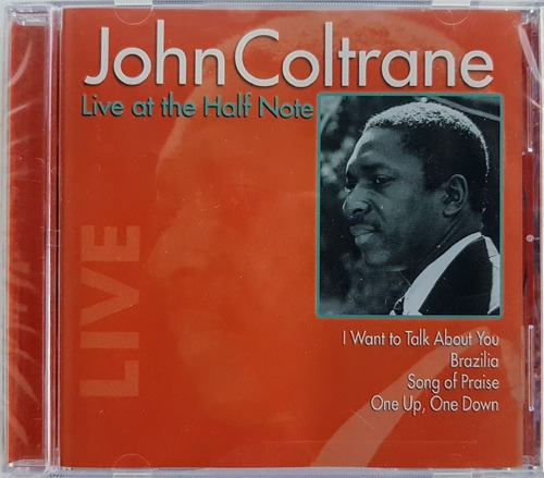 cd john coltrane - live at the half note - importado lacrado