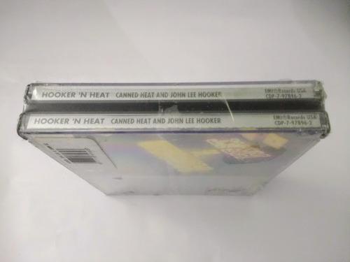cd - john lee hooker & canned heat - hooker n heat