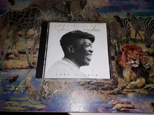 cd john lee hooker - the best of 1965 to 1974 - envio 12,00