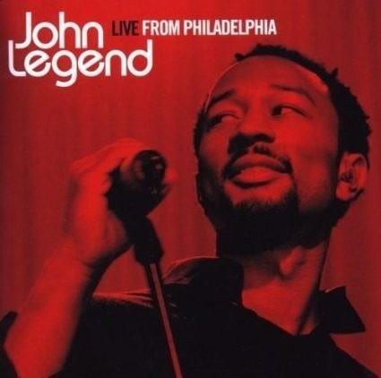cd - john legend - live from philadelphia - lacrado
