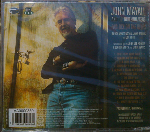 cd john mayall and the bluesbreakers- lacrado de fabrica