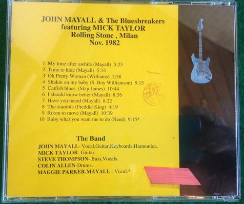 cd john mayall live frete grátis orig mick taylor