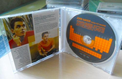 cd: john mayer - room for squares