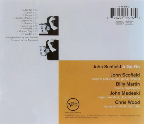 cd john scofield - a go go