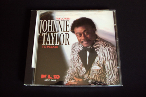 cd johnnie taylor -  taylored to please  (raro)