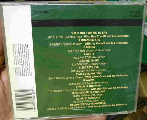 cd johnny mathis - grandes momentos - frete gratis - b307