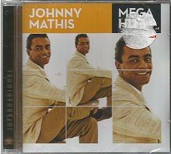 cd johnny mathis - mega hits (novo-lacrado)