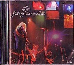 cd johnny winter - live (usado/otimo)
