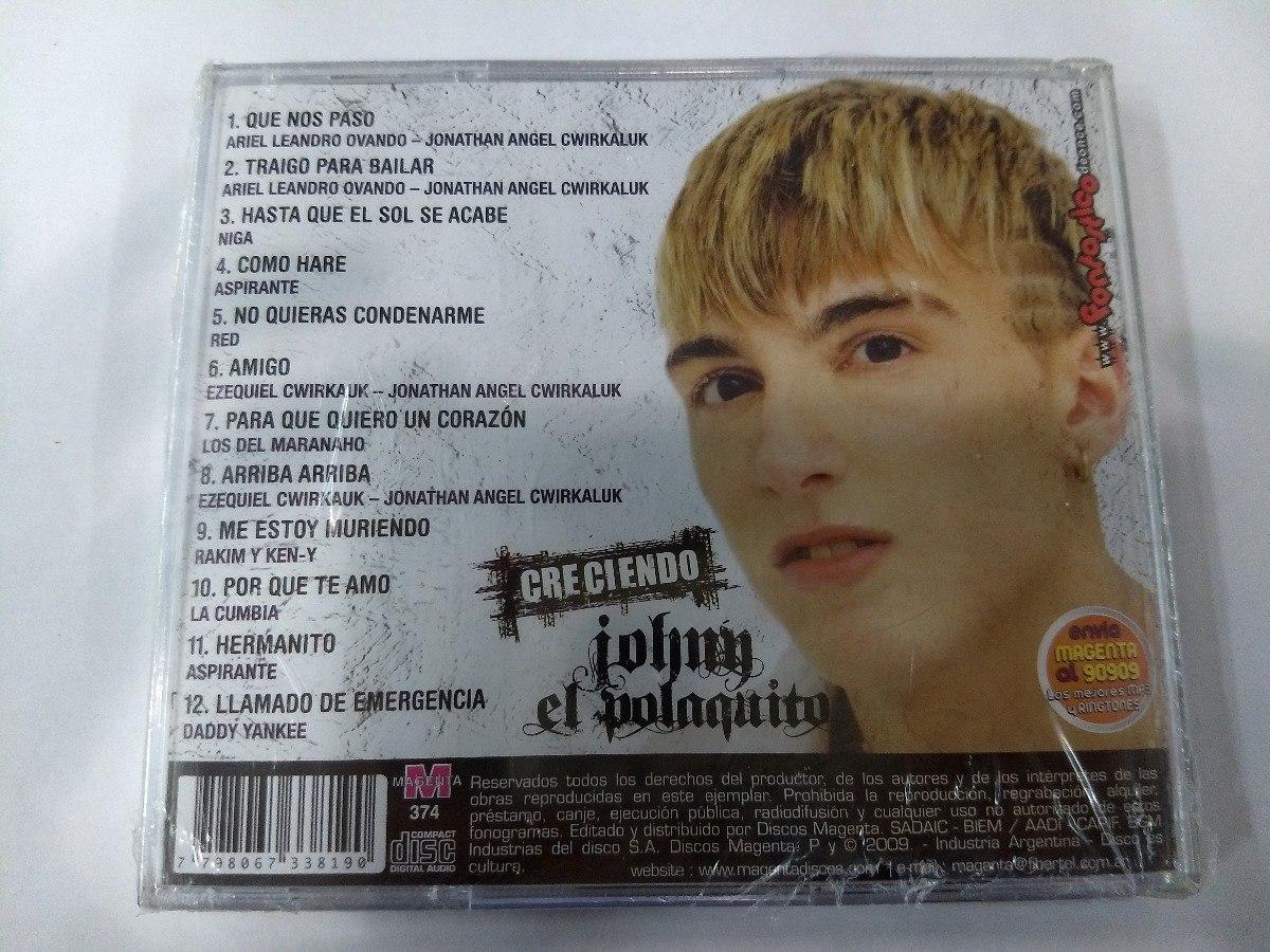 johny el polakito-creciendo 2009
