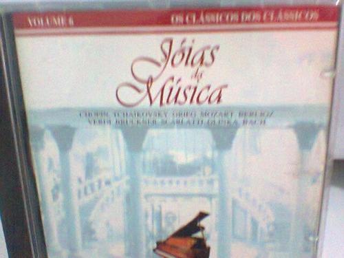 cd jóias da música    /  volume 6    (frete grátis)