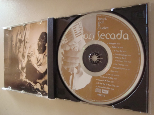 cd / jon secada / heart soul & a voice