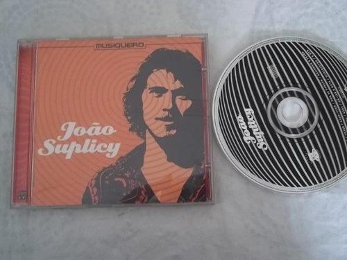 *cd - joão suplicy - musiqueiro - mpb cantor