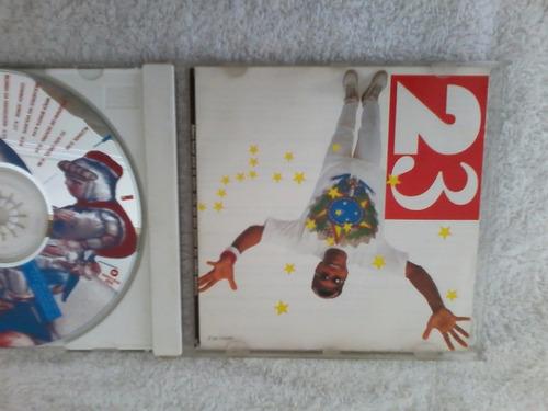 cd jorge ben jor 23,com encarte semi novo de 1993,,,