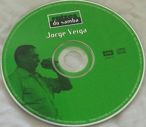 cd jorge veiga - raízes do samba (faustina)