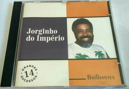 cd jorginho do império (14 grandes sucessos) brilhantes