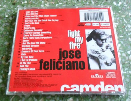 cd jose feliciano - light my fire.