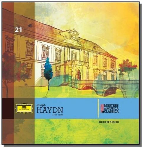 cd joseph haydn mestres da música clássica folha 21 novo