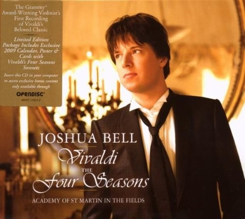 cd joshua bell vivaldi: the four seasons importado