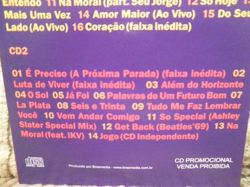cd jota quest ao vivo quinze 2 cds