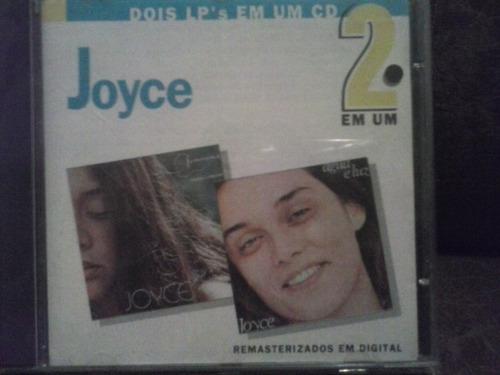 cd joyce - 2 em 1 feminina e água e luz