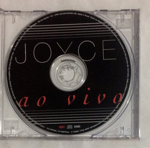 cd joyce ao vivo (jbn)