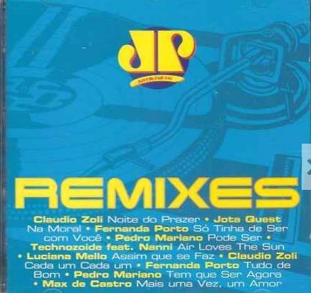 cd jp remixes / nacional  2002--lacrado--  frete grátis