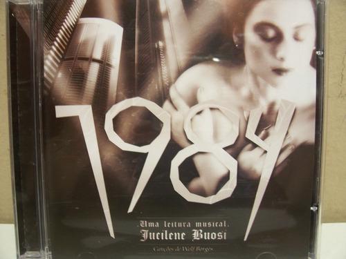 cd - jucilene buosi - 1984 - uma leitura musical