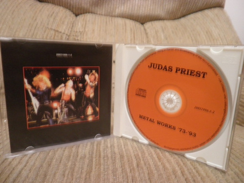 cd judas priest metal works '73-'93 importado