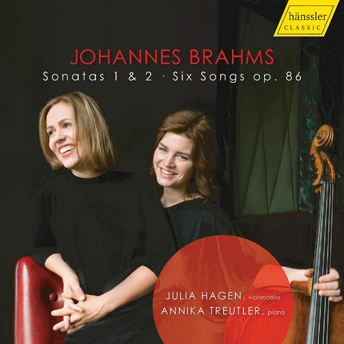 cd : julia hagen - annika treutler - sonatas 1 & 2 /  six...