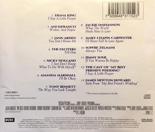 cd julia roberts my best friends wedding soundtrack