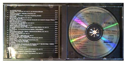cd - julio iglesias - 20 exitos - edicion - 1987 - original