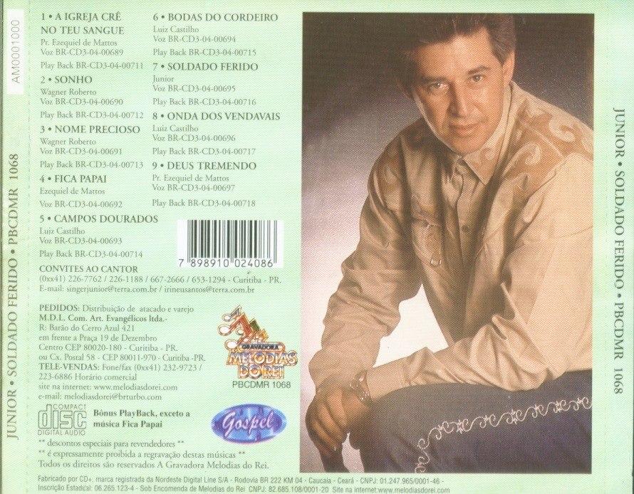 BAIXAR FERIDO JUNIOR SOLDADO GRATIS CD