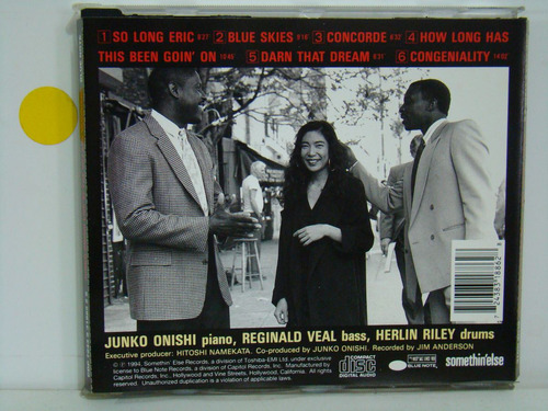cd - junko onishi trio - live village vanguard - importado