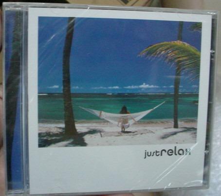 cd just  relax - novo e lacrado de fabrica  -  b283