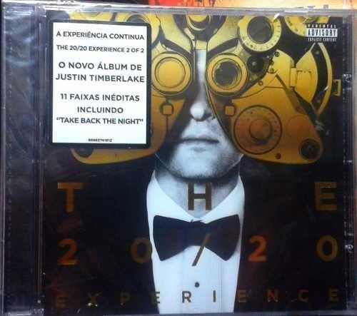 cd justin timberlake - the 20/20 experience (lacrado)