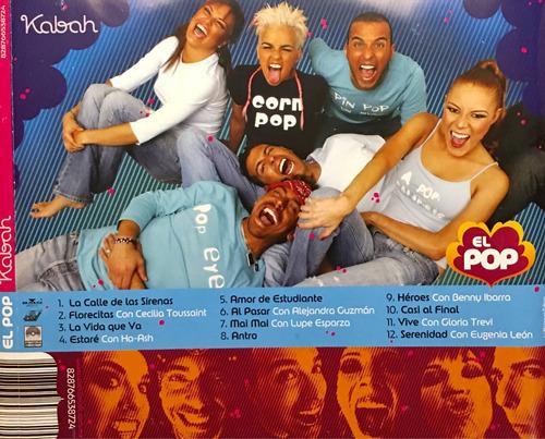 cd kabah el pop