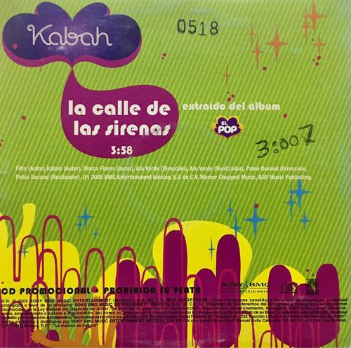 cd kabah la calle de las sirenas promo usado