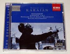 cd karajan edition - schubert: symphonien 3 & 4